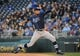 Apr 8, 2014; Kansas City, MO, USA; Tampa Bay Rays starting pitcher Chris Archer (22) delivers a pitch in the first inning against the Kansas City Royals at Kauffman Stadium. Mandatory Credit: John Rieger-USA TODAY Sports