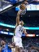 Apr 8, 2014; Salt Lake City, UT, USA; Utah Jazz forward Richard Jefferson (24) dunks during the second half against the Dallas Mavericks at EnergySolutions Arena. The Mavericks won 95-83. Mandatory Credit: Russ Isabella-USA TODAY Sports