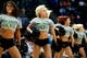 Apr 9, 2014; Denver, CO, USA; Denver Nuggets dancers perform prior to the game against the Houston Rockets at the Pepsi Center. The Nuggets won 123-116. Mandatory Credit: Isaiah J. Downing-USA TODAY Sports