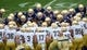 Apr 12, 2014; Notre Dame, IN, USA; The Notre Dame Fighting Irish huddle before the Blue-Gold Game at Notre Dame Stadium. Mandatory Credit: Matt Cashore-USA TODAY Sports