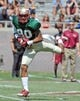 Apr 12, 2014; Tallahassee, FL, USA; Florida State Seminoles wide receiver Rashad Greene (80) runs the ball during the spring game at Doak Campbell Stadium. Mandatory Credit: Melina Vastola-USA TODAY Sports