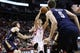 Apr 12, 2014; Houston, TX, USA; Houston Rockets guard Jeremy Lin (7) drives to the basket during the second half against the New Orleans Pelicans at Toyota Center. The Rockets won 111-104. Mandatory Credit: Soobum Im-USA TODAY Sports