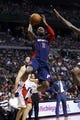 Apr 13, 2014; Auburn Hills, MI, USA; Detroit Pistons guard Rodney Stuckey (3) goes to the basket in the third quarter against the Toronto Raptors at The Palace of Auburn Hills. Toronto won 116-107. Mandatory Credit: Rick Osentoski-USA TODAY Sports