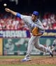 Apr 13, 2014; St. Louis, MO, USA; Chicago Cubs relief pitcher Blake Parker (50) delivers a pitch against the St. Louis Cardinals at Busch Stadium. The Cardinals defeated the Cubs 6-4. Mandatory Credit: Scott Rovak-USA TODAY Sports