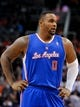 Apr 2, 2014; Phoenix, AZ, USA; Los Angeles Clippers forward Glen Davis (0) stands on the court during the second quarter against the Phoenix Suns at US Airways Center. The Clippers won 112-108. Mandatory Credit: Casey Sapio-USA TODAY Sports