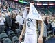 Apr 14, 2014; Salt Lake City, UT, USA; Utah Jazz center Enes Kanter (0) leaves the court after losing to theLos Angeles Lakers 119-104 at EnergySolutions Arena. Mandatory Credit: Russ Isabella-USA TODAY Sports