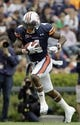 Apr 19, 2014; Auburn, AL, USA;  Auburn Tigers receiver Quan Bray (4) carries during the first half of the A-Day spring game at Jordan Hare Stadium. Mandatory Credit: John Reed-USA TODAY Sports