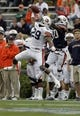 Apr 19, 2014; Auburn, AL, USA;  Auburn Tigers defensive back Brandon King (29) breaks up a pass intended for receiver Marcus Davis (80) during the second half of the A-Day spring game at Jordan Hare Stadium. Mandatory Credit: John Reed-USA TODAY Sports