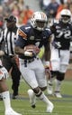 Apr 19, 2014; Auburn, AL, USA; Auburn Tigers receiver D'haquille Williams (1) carries during the second half of the A-Day spring game at Jordan Hare Stadium. Mandatory Credit: John Reed-USA TODAY Sports