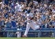 Apr 20, 2014; Los Angeles, CA, USA: Los Angeles Dodgers right fielder Yasiel Puig (66) runs to home plate after hitting a 3-run homer against the Arizona Diamondbacks at Dodger Stadium. Mandatory Credit: Robert Hanashiro-USA TODAY Sports