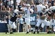 Apr 12, 2014; State College, PA, USA; Penn State Nittany Lions quarterback Austin Whipple (16) attempts to throw a pass in the second quarter of the Blue White spring game at Beaver Stadium. The Blue team defeated the White team 37-0. Mandatory Credit: Matthew O'Haren-USA TODAY Sports
