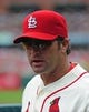 Apr 26, 2014; St. Louis, MO, USA; St. Louis Cardinals manager Mike Matheny (22) looks on against the Pittsburgh Pirates during the second inning at Busch Stadium. Mandatory Credit: Jeff Curry-USA TODAY Sports