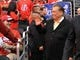 May 11, 2012; Los Angeles, CA, USA;   Los Angeles Clippers owner Donald Sterling enters the court before the start of game 6 of the Western Conference quarterfinals of the 2012 NBA Playoffs against the Memphis Grizzlies at the Staples Center.  Mandatory Credit: Jayne Kamin-Oncea-USA TODAY Sports