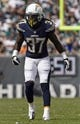 Sep 15, 2013; Philadelphia, PA, USA; San Diego Chargers safety Jahleel Addae (37) during the second quarter against the Philadelphia Eagles at Lincoln Financial Field. The Chargers defeated the Eagles 33-30. Mandatory Credit: Howard Smith-USA TODAY Sports