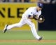 May 2, 2014; San Diego, CA, USA; San Diego Padres shortstop Everth Cabrera (2) fields a ground ball to start a double play during the eighth inning against the Arizona Diamondbacks at Petco Park. Mandatory Credit: Christopher Hanewinckel-USA TODAY Sports