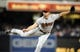 May 2, 2014; San Diego, CA, USA; Arizona Diamondbacks relief pitcher Addison Reed (43) throws during the ninth inning against the San Diego Padres at Petco Park. Mandatory Credit: Christopher Hanewinckel-USA TODAY Sports