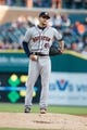 May 5, 2014; Detroit, MI, USA; Houston Astros starting pitcher Jarred Cosart (48) gets set to pitch against the Detroit Tigers at Comerica Park. Mandatory Credit: Rick Osentoski-USA TODAY Sports