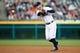 May 5, 2014; Detroit, MI, USA; Detroit Tigers second baseman Ian Kinsler (3) makes a throw against the Houston Astros at Comerica Park. Mandatory Credit: Rick Osentoski-USA TODAY Sports