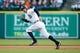 May 5, 2014; Detroit, MI, USA; Detroit Tigers second baseman Ian Kinsler (3) runs to first against the Houston Astros at Comerica Park. Mandatory Credit: Rick Osentoski-USA TODAY Sports
