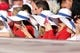 May 4, 2014; Philadelphia, PA, USA; Fans wearing Philadelphia Phillies derby hats take cell phone photos of the action during a game against the Washington Nationals at Citizens Bank Park. The Phillies defeated the Nationals 1-0.  Mandatory Credit: Bill Streicher-USA TODAY Sports