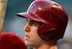 May 9, 2014; Chicago, IL, USA; Arizona Diamondbacks first baseman Paul Goldschmidt (44) during the first inning at U.S Cellular Field. Mandatory Credit: Mike DiNovo-USA TODAY Sports