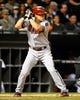 May 9, 2014; Chicago, IL, USA; Arizona Diamondbacks shortstop Chris Owings (16) during the sixth inning at U.S Cellular Field. Mandatory Credit: Mike DiNovo-USA TODAY Sports