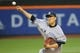 May 14, 2014; New York, NY, USA; New York Yankees starting pitcher Masahiro Tanaka (19) pitches during the first inning against the New York Mets at Citi Field. Mandatory Credit: Anthony Gruppuso-USA TODAY Sports