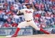 May 18, 2014; Philadelphia, PA, USA; Philadelphia Phillies relief pitcher Antonio Bastardo (59) pitches in the ninth inning against the Cincinnati Reds at Citizens Bank Park. The Phillies won 8-3. Mandatory Credit: Bill Streicher-USA TODAY Sports