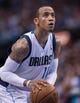Apr 10, 2014; Dallas, TX, USA; Dallas Mavericks guard Monta Ellis (11) during the game against the San Antonio Spurs at the American Airlines Center. The Spurs defeated the Mavericks 109-100. Mandatory Credit: Jerome Miron-USA TODAY Sports