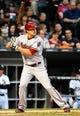May 9, 2014; Chicago, IL, USA; Arizona Diamondbacks center fielder A.J. Pollock (11) during the fourth inning at U.S Cellular Field. Mandatory Credit: Mike DiNovo-USA TODAY Sports