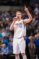 Apr 12, 2014; Dallas, TX, USA; Dallas Mavericks forward Dirk Nowitzki (41) before the game against the Phoenix Suns at the American Airlines Center. The Mavericks defeated the Suns 101-98. Mandatory Credit: Jerome Miron-USA TODAY Sports