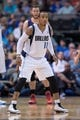 Apr 12, 2014; Dallas, TX, USA; Dallas Mavericks guard Monta Ellis (11) during the game against the Phoenix Suns at the American Airlines Center. The Mavericks defeated the Suns 101-98. Mandatory Credit: Jerome Miron-USA TODAY Sports