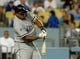 Jun 3, 2014; Los Angeles, CA, USA; Chicago White Sox right fielder Dayan Viciedo (24) at bat in the sixth inning of the game against the Los Angeles Dodgers at Dodger Stadium. Mandatory Credit: Jayne Kamin-Oncea-USA TODAY Sports