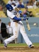 Jun 3, 2014; Los Angeles, CA, USA; Los Angeles Dodgers center fielder Matt Kemp (27) at bat in the sixth inning of the game against the Chicago White Sox at Dodger Stadium. Mandatory Credit: Jayne Kamin-Oncea-USA TODAY Sports