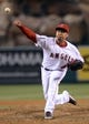 Jun 6, 2014; Anaheim, CA, USA; Los Angeles Angels relief pitcher Ernesto Frieri (49) in the ninth inning of the game against the Chicago White Sox at Angel Stadium of Anaheim. Angels won 8-4. Mandatory Credit: Jayne Kamin-Oncea-USA TODAY Sports