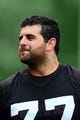 Jun 12, 2014; Berea, OH, USA; Cleveland Browns offensive lineman John Greco during minicamp at Browns training facility. Mandatory Credit: Andrew Weber-USA TODAY Sports