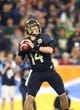 Jan 1, 2014; Glendale, AZ, USA; Baylor Bears quarterback Bryce Petty (14) against the Central Florida Knights during the Fiesta Bowl at University of Phoenix Stadium. Central Florida defeated Baylor 52-42. Mandatory Credit: Mark J. Rebilas-USA TODAY Sports