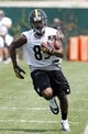 Jun 17, 2014; Pittsburgh, PA, USA; Pittsburgh Steelers receiver Darrius Heyward-Bey (85) participates in drills during minicamp at the UPMC Sports Performance Complex. Mandatory Credit: Charles LeClaire-USA TODAY Sports