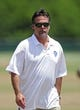 Jun 17, 2014; St. Louis, MO, USA; St. Louis Rams head coach Jeff Fisher looks on during minicamp at Rams Park. Mandatory Credit: Jeff Curry-USA TODAY Sports