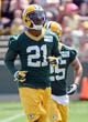 Jun 17, 2014; Green Bay, WI, USA;  Green Bay Packers safety Ha Ha Clinton-Dix practices during the team's minicamp at Ray Nitschke Field. Mandatory Credit: Benny Sieu-USA TODAY Sports