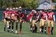 Jun 17, 2014; Santa Clara, CA, USA; San Francisco 49ers quarterback Colin Kaepernick (7) leads his row stretching during minicamp at the 49ers practice facility. Mandatory Credit: Kelley L Cox-USA TODAY Sports