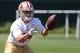 Jun 17, 2014; Santa Clara, CA, USA; San Francisco 49ers linebacker Shayne Skov during minicamp at the 49ers practice facility. Mandatory Credit: Kelley L Cox-USA TODAY Sports