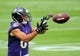 Jun 19, 2014; Baltimore, MD, USA; Baltimore Ravens wide receiver Michael Campanaro (6) catches a pass during minicamp at the Under Armour Performance Center. Mandatory Credit: Evan Habeeb-USA TODAY Sports