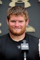 Jun 19, 2014; Baltimore, MD, USA; Baltimore Ravens offensive guard Marshal Yanda (73) talks to the media after minicamp at the Under Armour Performance Center. Mandatory Credit: Evan Habeeb-USA TODAY Sports