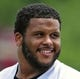 Jun 17, 2014; St. Louis, MO, USA; St. Louis Rams defensive tackle Aaron Donald (99) looks on during minicamp at Rams Park. Mandatory Credit: Jeff Curry-USA TODAY Sports