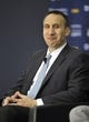 Jun 27, 2014; Independence, OH, USA; Cleveland Cavaliers head coach David Blatt speaks to the media at Cleveland Clinic Courts. Mandatory Credit: David Richard-USA TODAY Sports
