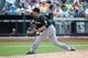 Jul 13, 2014; New York, NY, USA;  Miami Marlins relief pitcher Jacob Turner (33) delivers pitch during the fifth inning against the New York Mets at Citi Field. Mandatory Credit: Anthony Gruppuso-USA TODAY Sports