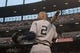 Jul 13, 2014; Baltimore, MD, USA; New York Yankees shortstop Derek Jeter (2) stands in the on deck circle during the first inning against the Baltimore Orioles at Oriole Park at Camden Yards. Mandatory Credit: Tommy Gilligan-USA TODAY Sports