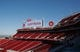 Jul 17, 2014; Santa Clara, CA, USA; General view of the stands and scoreboard during a tour before the ribbon cutting ceremony at Levi's Stadium. Mandatory Credit: Kelley L Cox-USA TODAY Sports