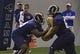 Jul 22, 2014; St. Louis, MO, USA; St. Louis Rams offensive tackle Greg Robinson (79) runs through drills at Rams Park. Mandatory Credit: Jeff Curry-USA TODAY Sports